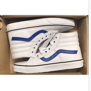 d5602ec101 Vans Shoes - Vans Sk8 Hi Reissue Canvas True White True Blue